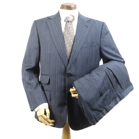 buy popular 12c60 175a2 GUCCI グッチ スーツ 2釦 ストライプ チェンジポケット 総裏地 ...